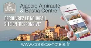Création site Internet Best Western par RSK communication Porto-Vecchio