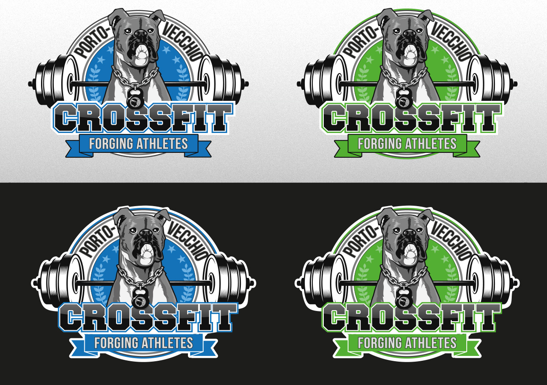 Création logo Crossfit Porto-Vecchio - Agence RSK
