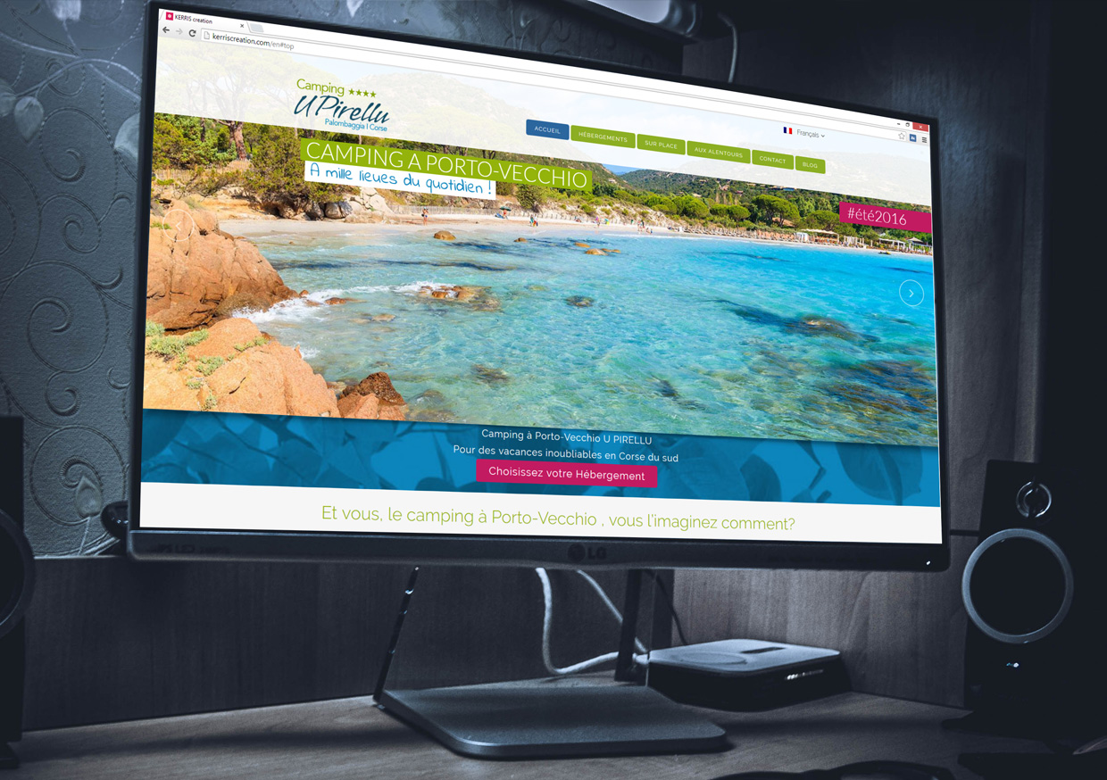 Site Internet pour Camping