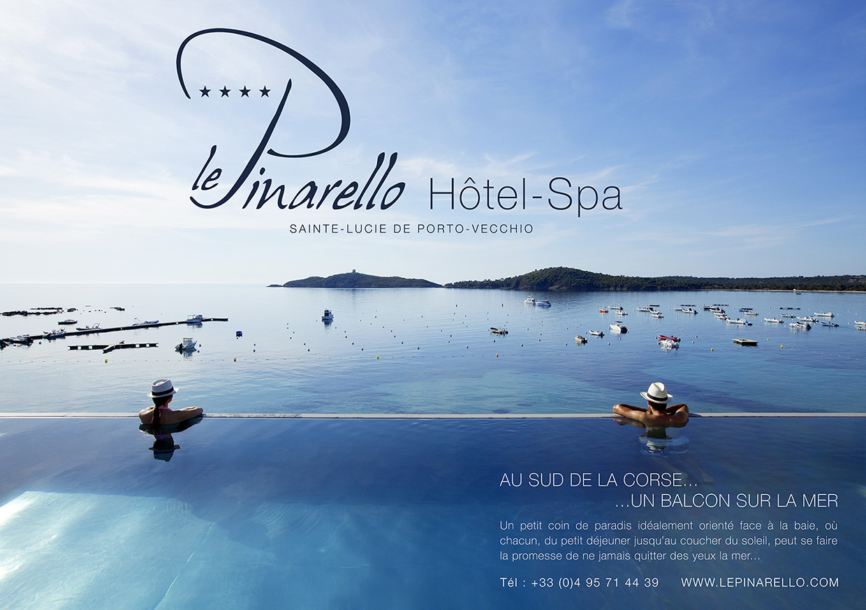 creation de design hotel le pinarello
