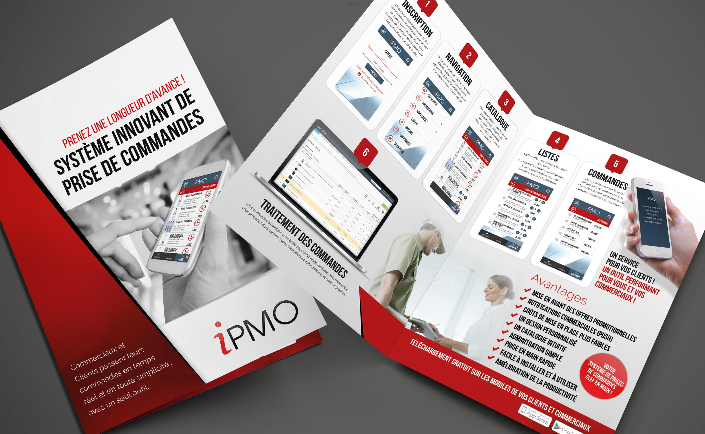 Agence de communication corse projet application IPMO m-Commerce