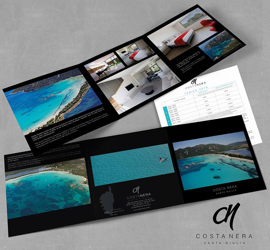 Agence spécialisée dans le design de brochures touristiques, immobilières, hôtellerie