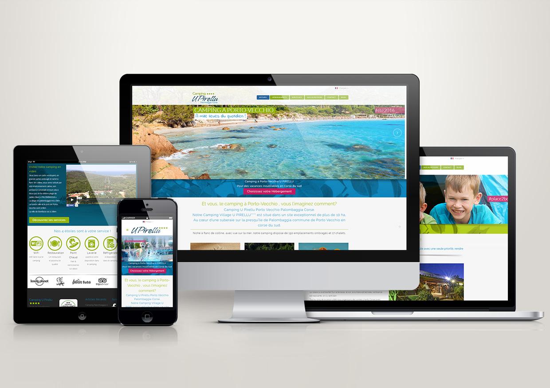 Site Internet pour Camping