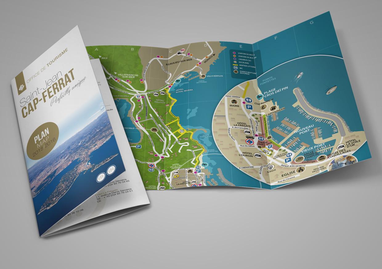 Création illustration plan de ville