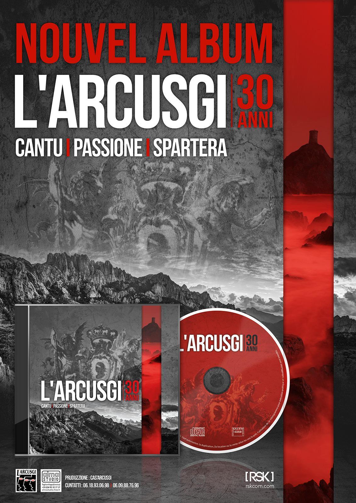 Design pochette CD et identité visuel