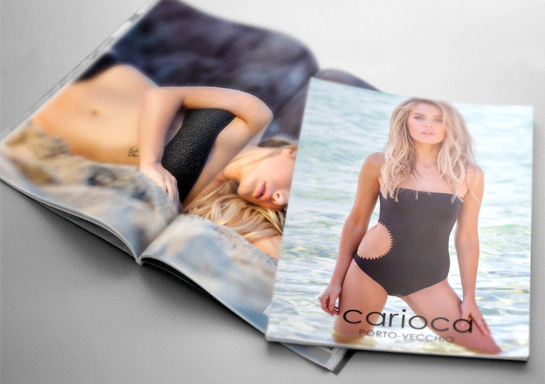 Création & Impression brochure de mode - Carioca Porto-Vecchio