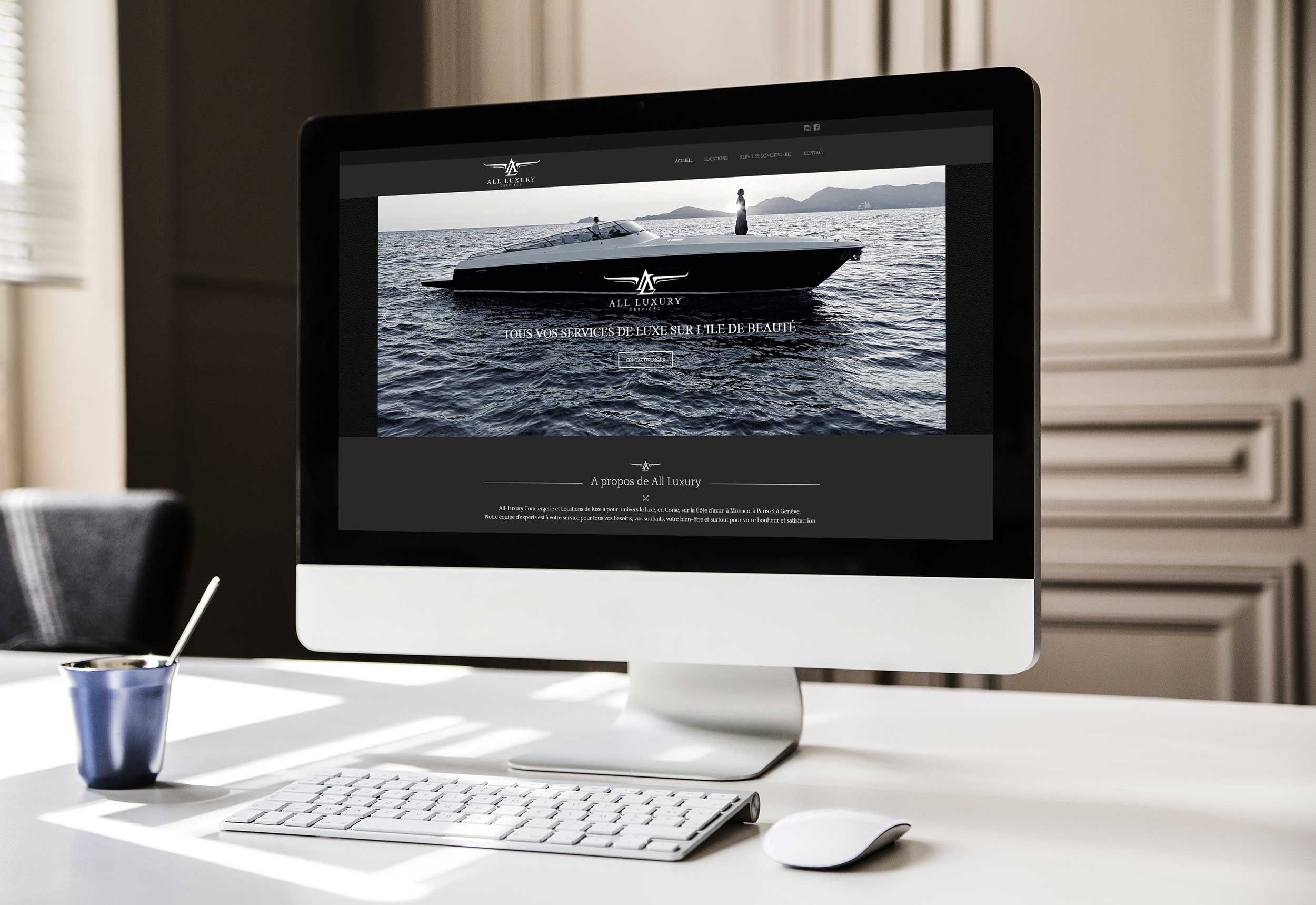 all luxury corse rsk creation site internet
