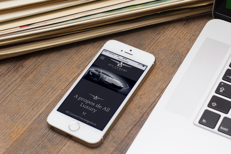 creation site internet all luxury corse