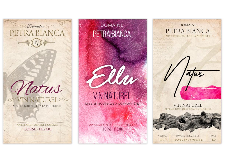 Création étiquette de vin & packaging