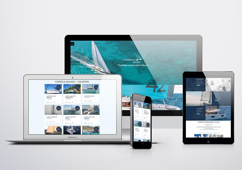 Création de site Internet Responsive Corsica sailing