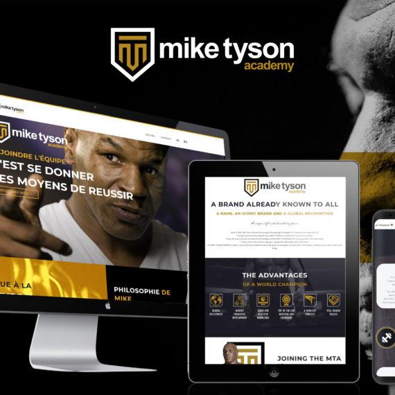 Création Site Web Corse Mike Tyson Academy