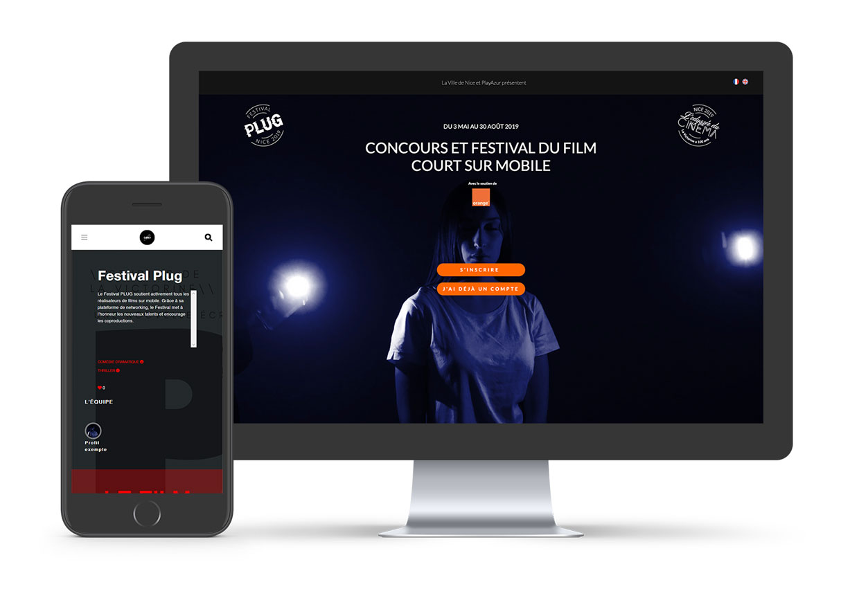 Creation SIte Web Festival Plug Nice