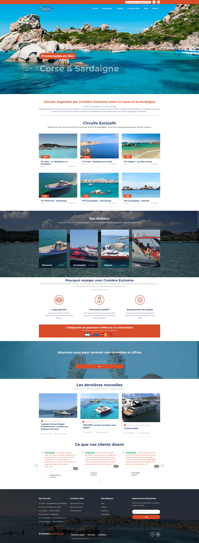 Creation Site Web Location Bateaux Crosiere Exclusive