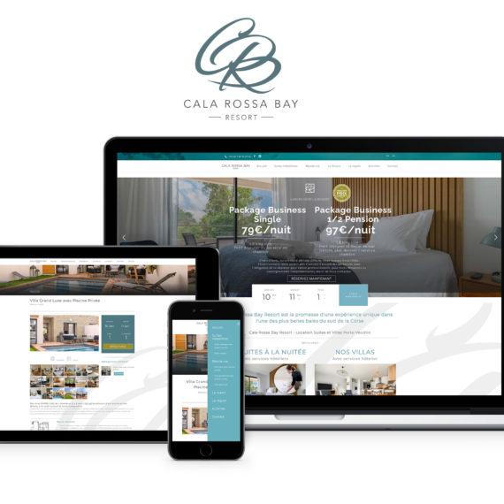 Création Site Web résidence Luxe Corse