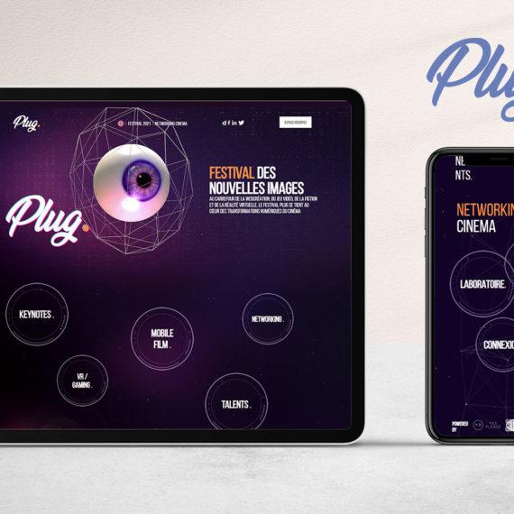 Création de Plateforme Web de Networking - Festival Plug